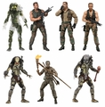 """Predator 30th Anniversary 7"""" Scale Action Figure Complete Set (7) by NECA"""