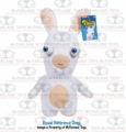 Rabbids Invasion Plush White Rabbid (Smiling) Series 2