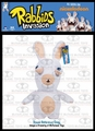 Rabbids Invasion Plush White Rabbid (Teeth) Series 2
