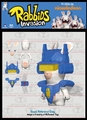 Rabbids Invasion RoboRabbid Silly Swaps Series 1