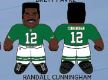 "Randall Cunningham (Philadelphia Eagles) 24"" NFL Plush Studds by Forever Collectibles"