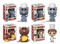 Ratatouille Complete Set w/ CHASE (4) Funko Pop!