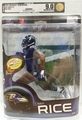 Ray Rice (Baltimore Ravens) NFL Series 32 McFarlane AFA GRADED 9.0