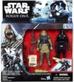 Rebel Cammando Pao & Imperial Death Trooper  Star Wars Rogue One Action Figure 2 Pack