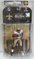 Reggie Bush (New Orleans Saints) NFL Series 17 McFarlane AFA Graded 9.0