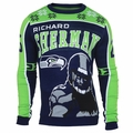 Richard Sherman #25 (Seattle Seahawks) NFL 2015 Player Ugly Sweater