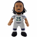 "Richard Sherman (Seattle Seahawks - Alternate Silver Jersey) 10"" Player Plush Bleacher Creatures"