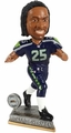 Richard Sherman (Seattle Seahawks) 2015 Springy Logo Action Bobble Head Forever Collectibles