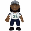 "Richard Sherman (Seattle Seahawks) Super Bowl XLVIII Champs (w/Hat) 10"" Player Plush Bleacher Creatures"