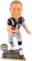 Rob Gronkowski (New England Patriots) 2015 Springy Logo Action Bobble Head Forever Collectibles