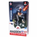 Rob Gronkowski (New England Patriots) EA Sports Madden NFL 17 Ultimate Team Series 1 McFarlane EXCLUSIVE