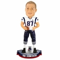 Rob Gronkowski (New England Patriots) Super Bowl XLIX Champ NFL Bobble Head Forever Collectibles