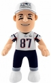 "Rob Gronkowski SUPER BOWL XLIX CHAMPS (New England Patriots) 10"" Player Plush Bleacher Creatures"