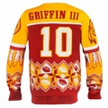 Robert Griffin III (Washington Redskins) NFL Ugly Player Sweater