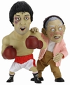 Rocky - Rocky & Mickey Puppet Maquette Set by NECA: Limited Edition of 1500