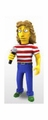"Roger Daltrey ""The Who"" (The Simpsons 25th Anniversary) 5"" Action Figure Series 2 NECA"