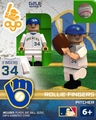 Rollie Fingers (Milwaukee Brewers) Cooperstown OYO Sportstoys Minifigures