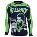 Russell Wilson #3 (Seattle Seahawks) NFL 2015 Player Ugly Sweater