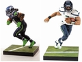 Russell Wilson/Marshawn Lynch Exclusive (Seattle Seahawks) Combo (2) NFL 35 McFarlane