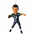 Russell Wilson (Seattle Seahawks) Forever Collectibles NFL Player Ornament