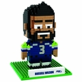 Russell Wilson (Seattle Seahawks) NFL 3D Player BRXLZ Puzzle By Forever Collectibles