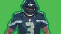 Russell Wilson (Seattle Seahawks) NFL Playmakers 4 McFarlane