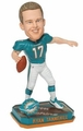 Ryan Tannehill (Miami Dolphins) Forever Collectibles 2014 NFL Springy Logo Base Bobblehead