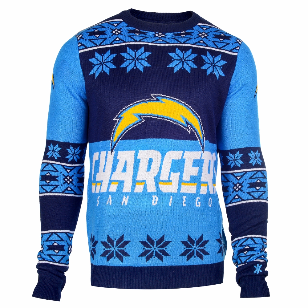 San Diego Chargers Fan Club: Mens San Diego Chargers Ash Big & Tall Squib Kick Pullover