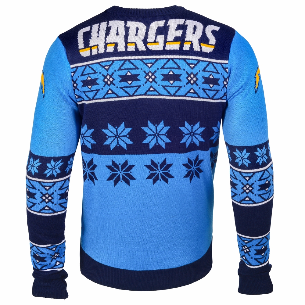San Diego Chargers Big Logo NFL Ugly Sweater