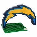 San Diego Chargers NFL 3D Logo BRXLZ Puzzle By Forever Collectibles