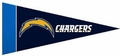San Diego Chargers NFL Mini Pennant