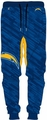 San Diego Chargers NFL Polyester Mens Jogger Pant by Forever Collectibles