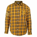 Pittsburgh Pirates Wordmark Mens Long Sleeve Flannel Shirt