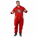 San Francisco 49ers Adult One-Piece NFL Klew Suit