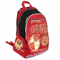 San Francisco 49ers Historic Art Backpack by Forever Collectibles
