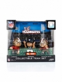 San Francisco 49ers Lil Teammates NFL 3-Pack Collectible Team Set