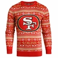 San Francisco 49ers NFL 2016 Aztec Ugly Crew Neck Sweaters by Forever Collectibles