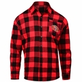 San Francisco 49ers NFL Checkered Men's Long Sleeve Flannel Shirt