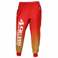 San Francisco 49ers NFL Polyester Gradient Men's Jogger Pant by Klew