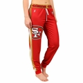 San Francisco 49ers NFL Poly Fleece Women's Jogger Pant by Klew