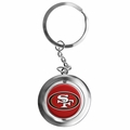 San Francisco 49ers NFL Spinner Keychain