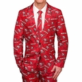 San Francisco 49ers NFL Repeat Logo Ugly Business Suit by Forever Collectibles