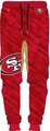 San Francisco 49ers NFL Polyester Mens Jogger Pant by Forever Collectibles