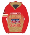 San Francisco 49ers Super Bowl XXIII Champions Poly Hoody Tee