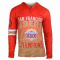 San Francisco 49ers Super Bowl XXIX Champions Poly Hoody Tee