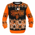 San Francisco Giants 2014 World Series Champions MLB Ugly Sweater BusyBlock