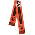 San Francisco Giants 2016 MLB Big Logo Scarf By Forever Collectibles