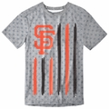 San Francisco Giants Big Logo Flag Tee by Forever Collectibles