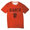 San Francisco Giants Big Logo Half Tone Tee by Forever Collectibles