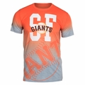 San Francisco Giants MLB Gray Gradient Tee by Forever Collectibles
